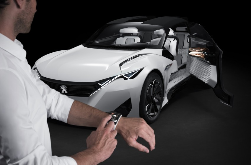 Peugeot Fractal – electric roadster concept unveiled Image #373746