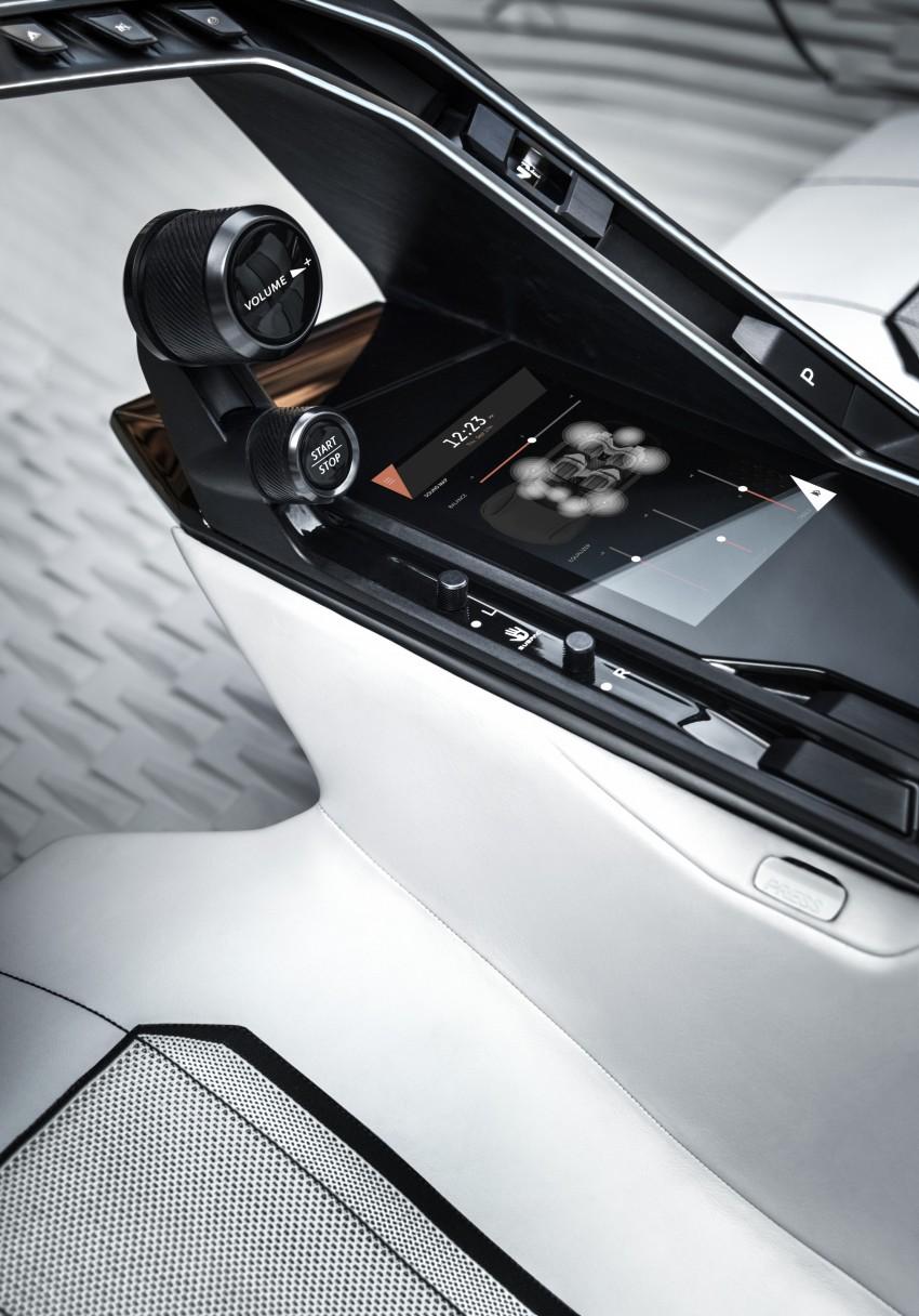 Peugeot Fractal – electric roadster concept unveiled Image #373758