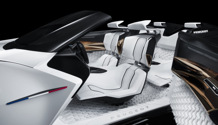 Peugeot Fractal – electric roadster concept unveiled Image #373767