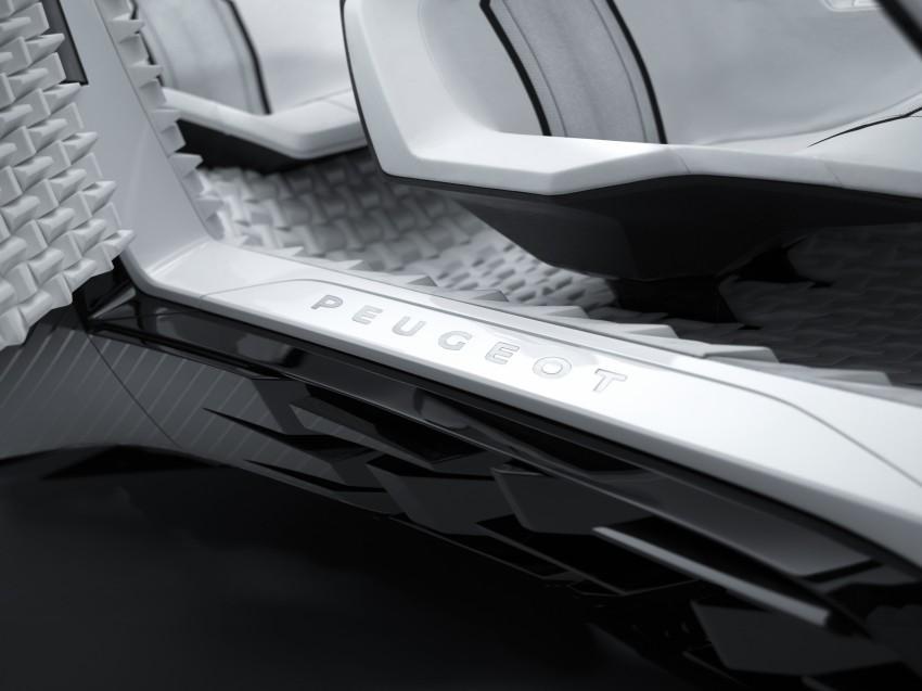 Peugeot Fractal – electric roadster concept unveiled Image #373778