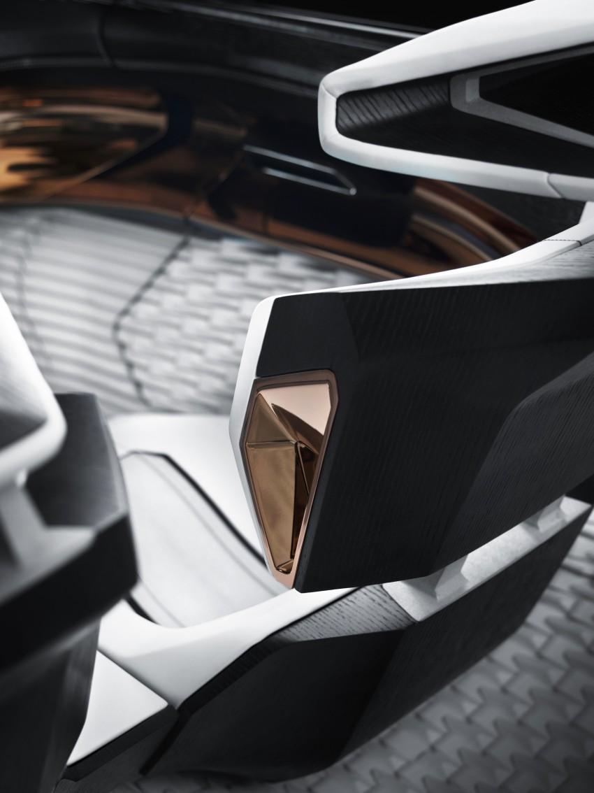 Peugeot Fractal – electric roadster concept unveiled Image #373787