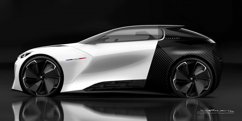 Peugeot Fractal – electric roadster concept unveiled Image #373796