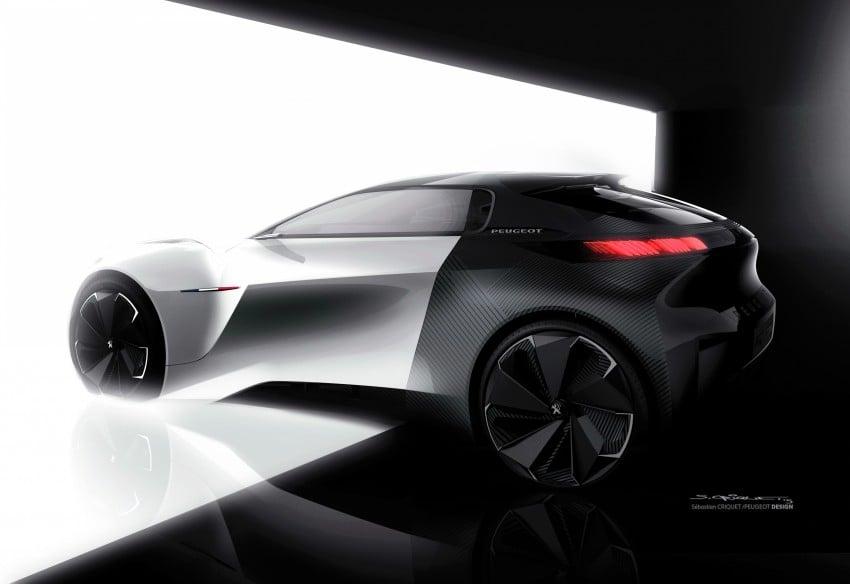 Peugeot Fractal – electric roadster concept unveiled Image #373798
