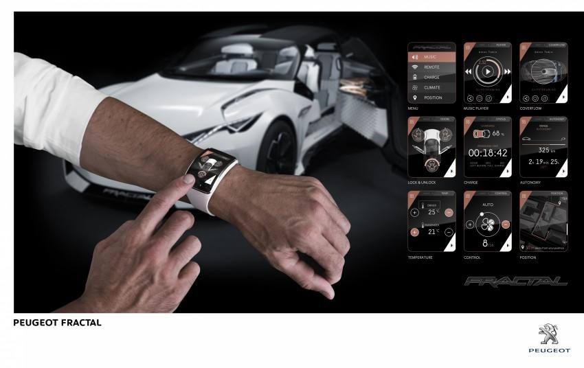 Peugeot Fractal – electric roadster concept unveiled Image #373810