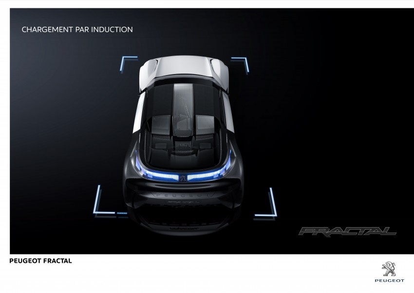 Peugeot Fractal – electric roadster concept unveiled Image #373812