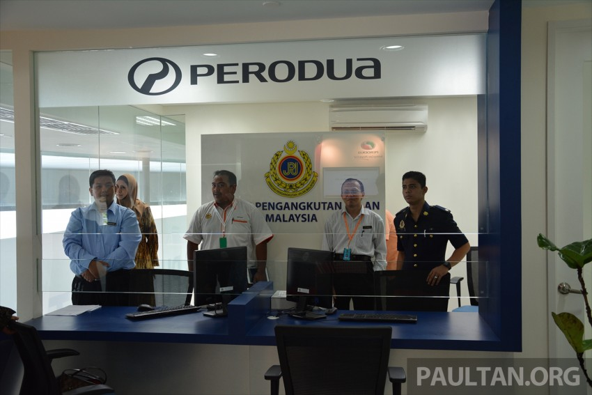 Perodua Sentral flagship centre in PJ officially opened, has its own JPJ counter, ATM, Gloria Jean's cafe Image #375945