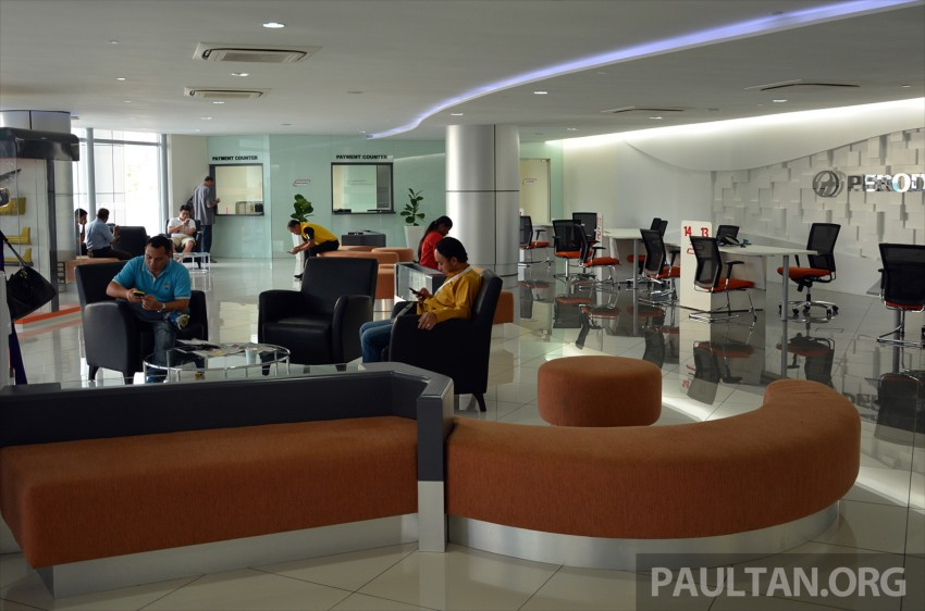 Perodua Sentral flagship centre in PJ officially opened, has its own JPJ counter, ATM, Gloria Jean's cafe Image #375947