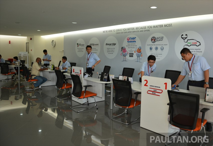 Perodua Sentral flagship centre in PJ officially opened, has its own JPJ counter, ATM, Gloria Jean's cafe Image #375948