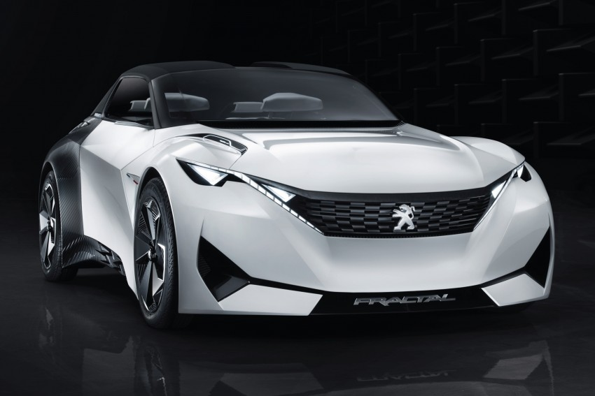 Peugeot Fractal – electric roadster concept unveiled Image #373704