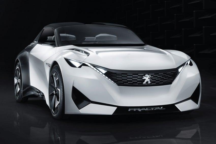 Peugeot Fractal – electric roadster concept unveiled Image #373704