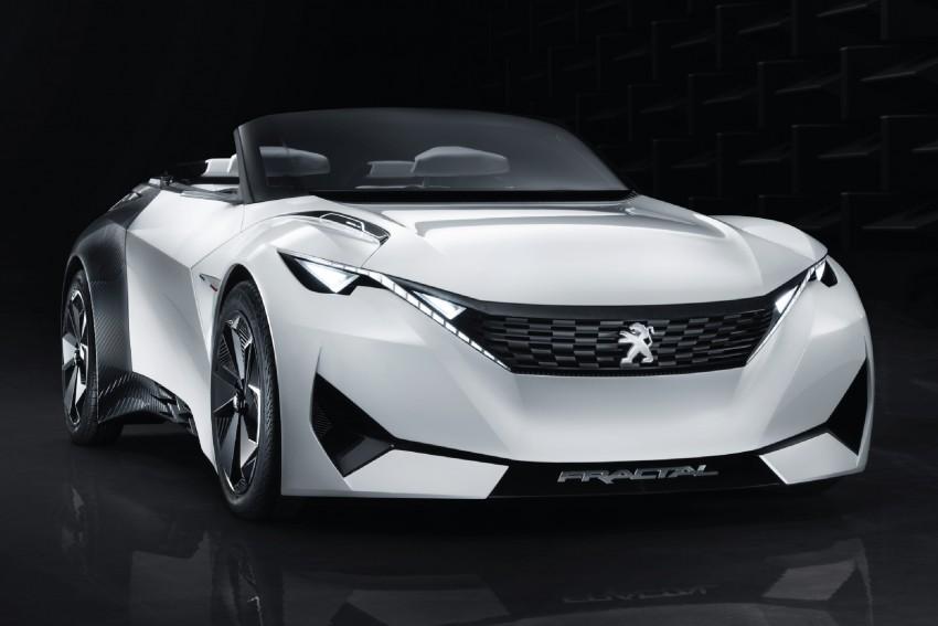 Peugeot Fractal – electric roadster concept unveiled Image #373705