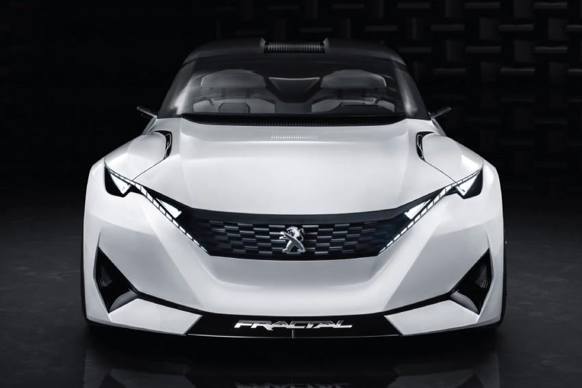 Peugeot Fractal – electric roadster concept unveiled Image #373706