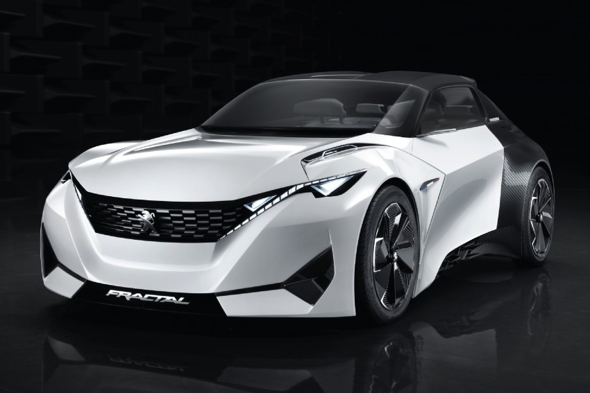 Peugeot Fractal – electric roadster concept unveiled Image #373709