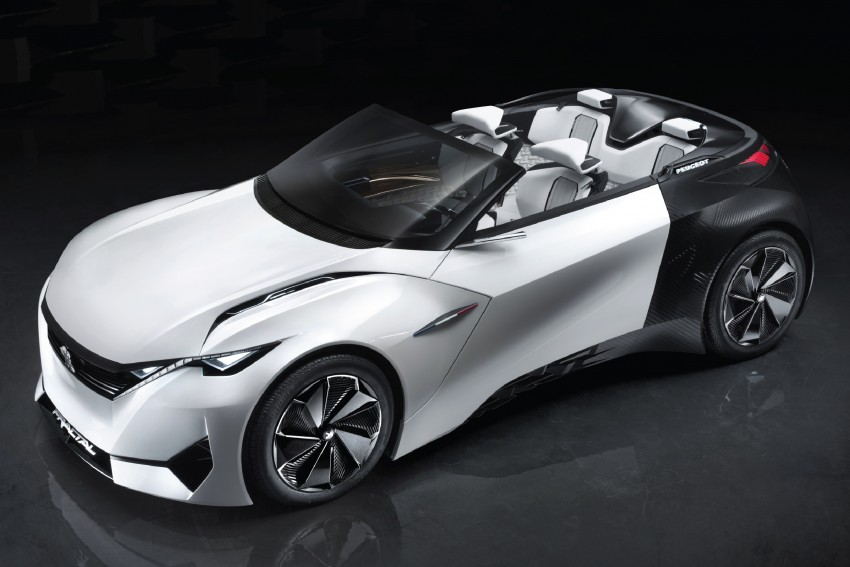 Peugeot Fractal – electric roadster concept unveiled Image #373712