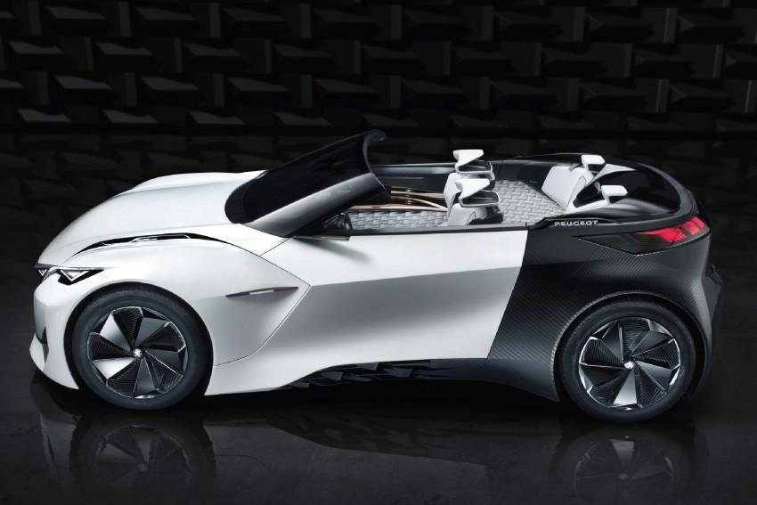 Peugeot Fractal – electric roadster concept unveiled Image #373715