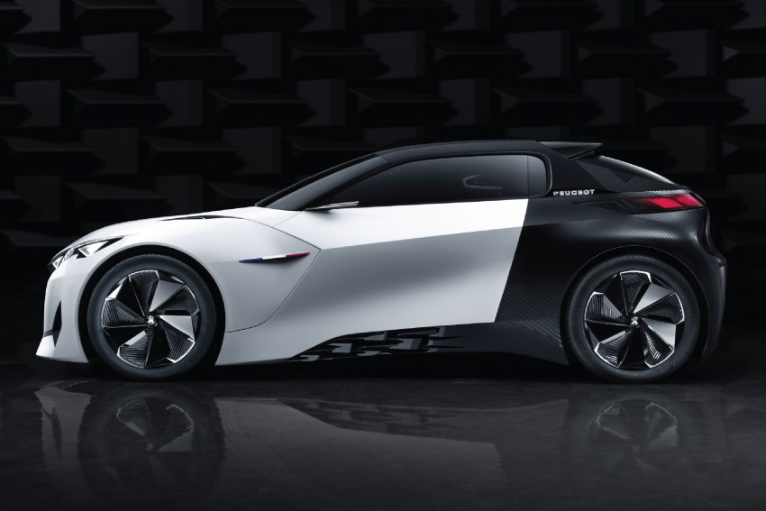 Peugeot Fractal – electric roadster concept unveiled Image #373716