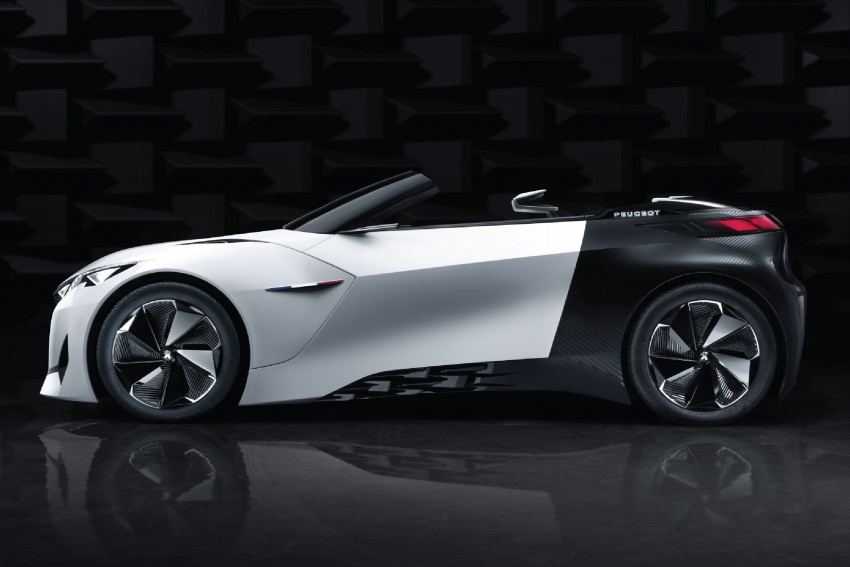 Peugeot Fractal – electric roadster concept unveiled Image #373718