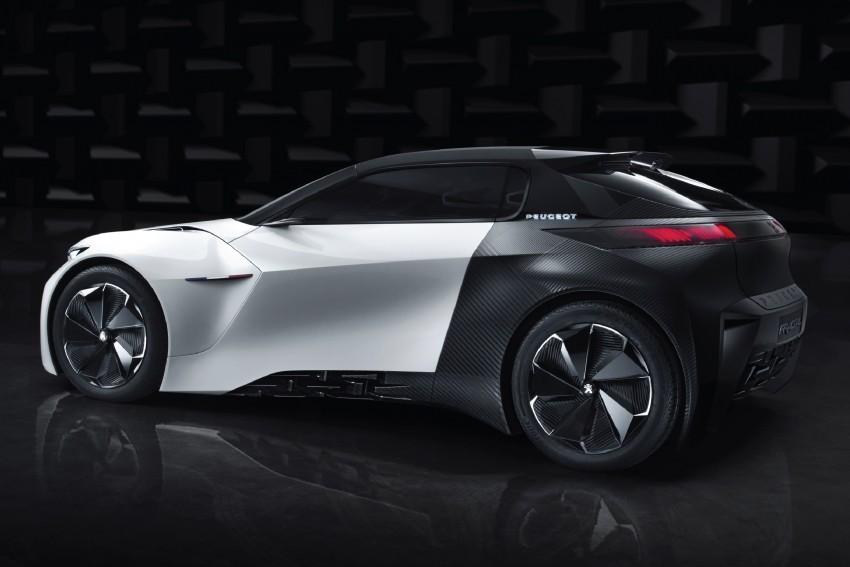 Peugeot Fractal – electric roadster concept unveiled Image #373719