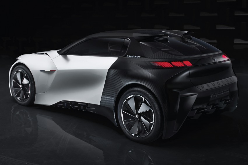 Peugeot Fractal – electric roadster concept unveiled Image #373721