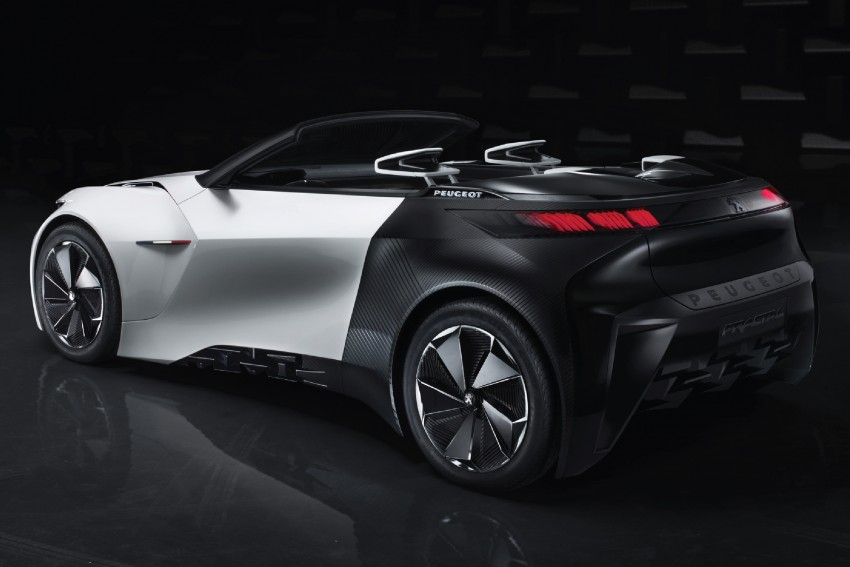 Peugeot Fractal – electric roadster concept unveiled Image #373722