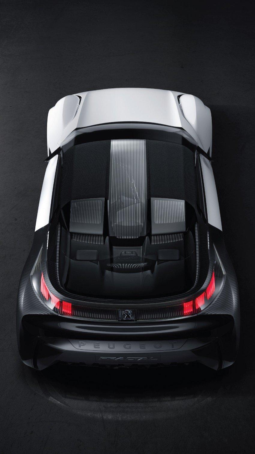 Peugeot Fractal – electric roadster concept unveiled Image #373724