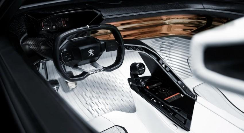 Peugeot Fractal concept leaked – an electric roadster? Image #373528
