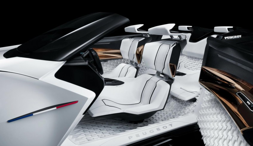 Peugeot Fractal concept leaked – an electric roadster? Image #373526