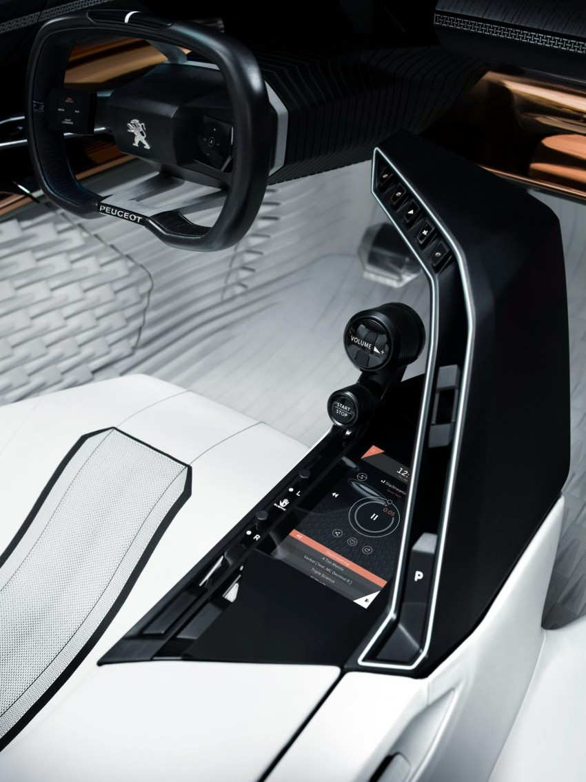 Peugeot Fractal concept leaked – an electric roadster? Image #373525