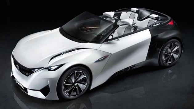 Peugeot Fractal concept 3a