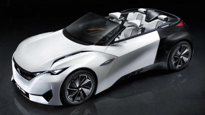 Peugeot Fractal concept leaked – an electric roadster? Image #373540