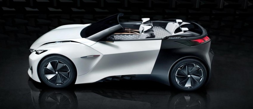 Peugeot Fractal concept leaked – an electric roadster? Image #373536