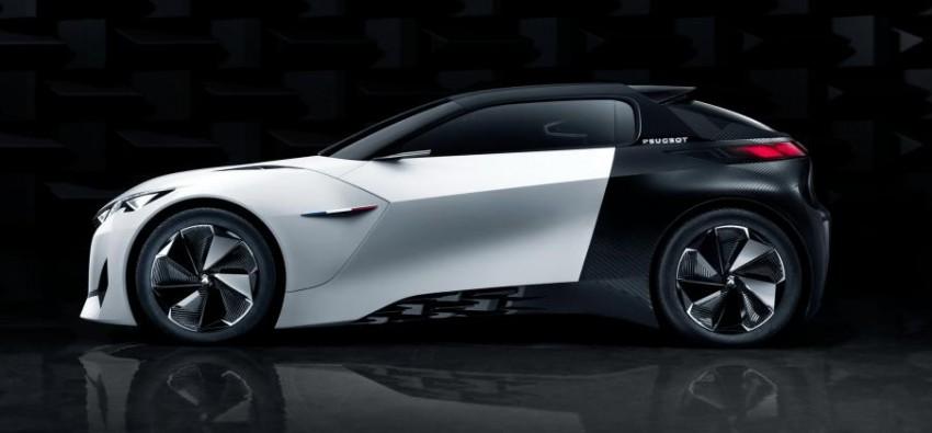 Peugeot Fractal concept leaked – an electric roadster? Image #373534