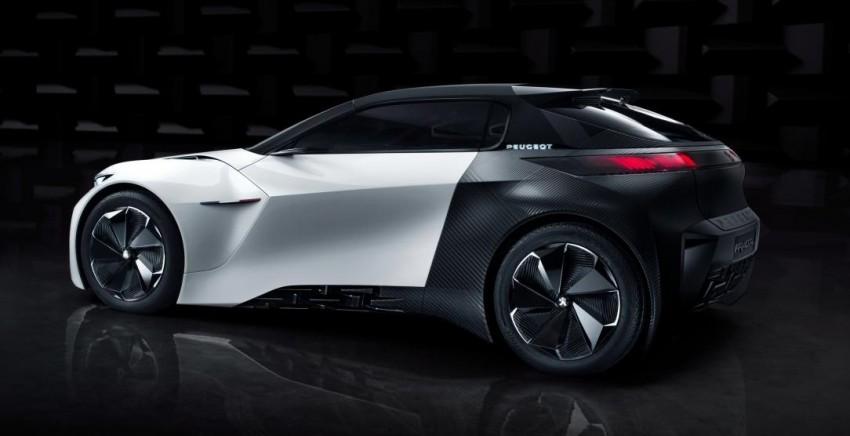 Peugeot Fractal concept leaked – an electric roadster? Image #373533