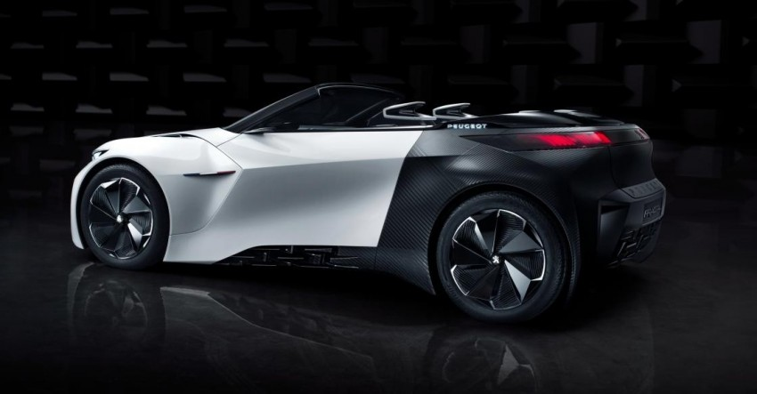 Peugeot Fractal concept leaked – an electric roadster? Image #373532