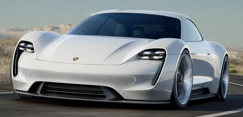 Frankfurt 2015: Porsche Mission E Concept revealed Image #379049
