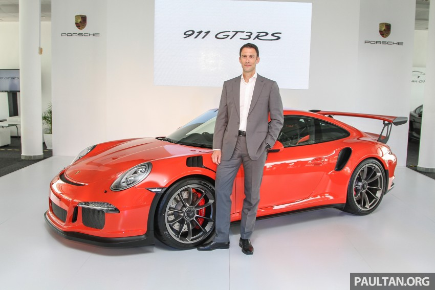 Porsche 911 GT3 RS in Malaysia for RM1.75 million Image #375770