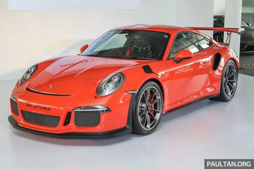 Porsche 911 GT3 RS in Malaysia for RM1.75 million Image #375774