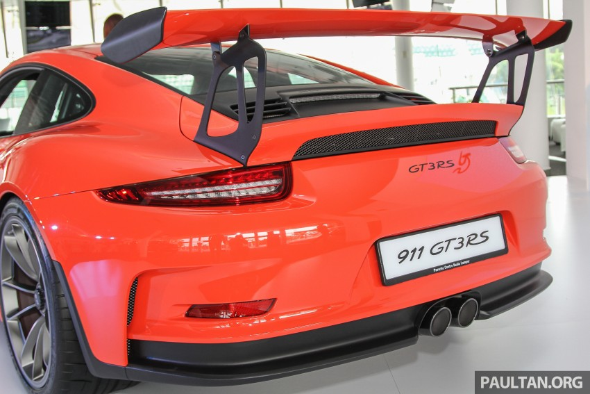 Porsche 911 GT3 RS in Malaysia for RM1.75 million Image #375789