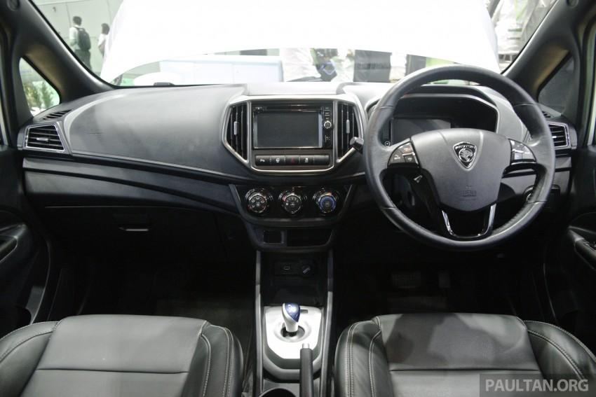Proton Iriz EV – 300 km electric car on display at IGEM Image #378258