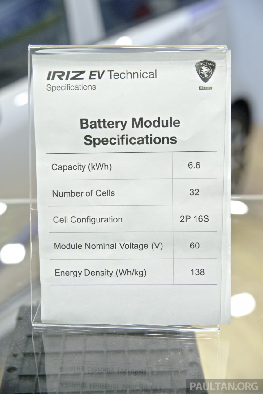 Proton Iriz EV – 300 km electric car on display at IGEM Image #378266