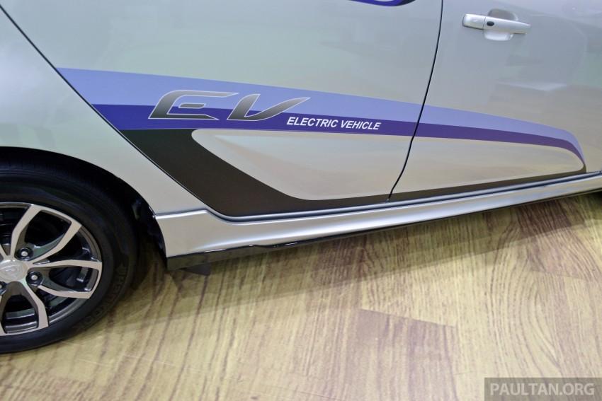 Proton Iriz EV – 300 km electric car on display at IGEM Image #378249