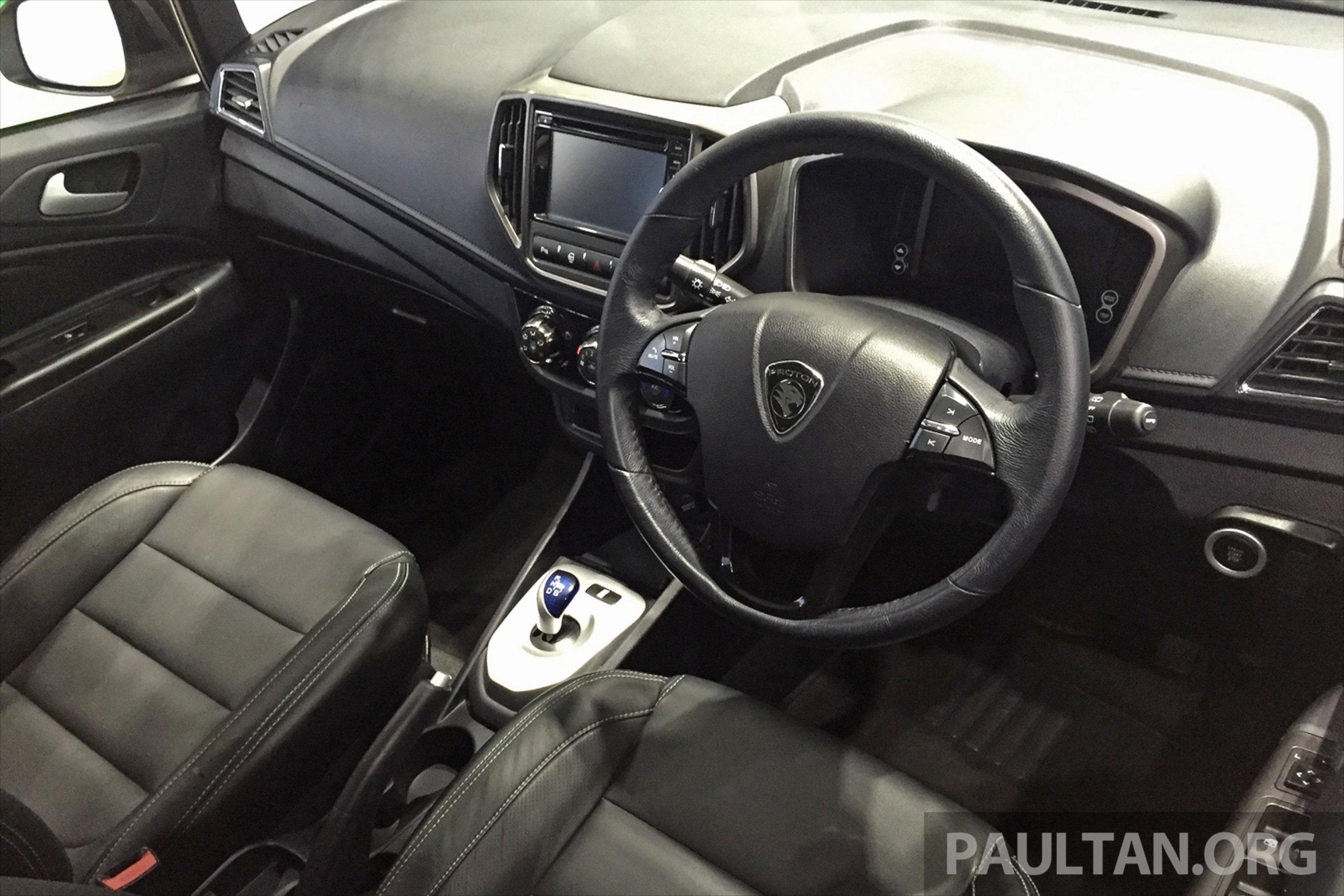 Proton Iriz EV – 300 km electric car on display at IGEM ...
