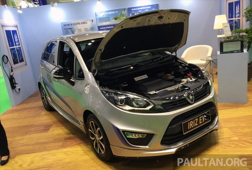 Proton Iriz EV – 300 km electric car on display at IGEM Image #378145