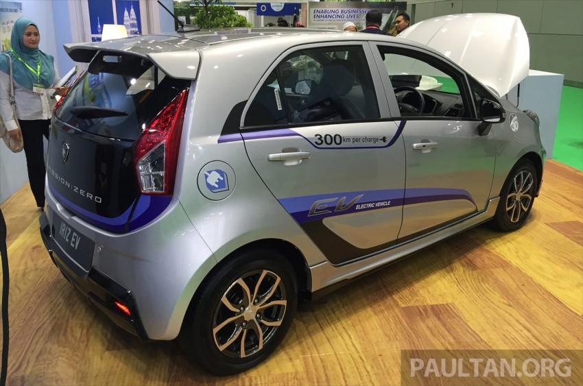 Proton Iriz EV – 300 km electric car on display at IGEM Image #378150