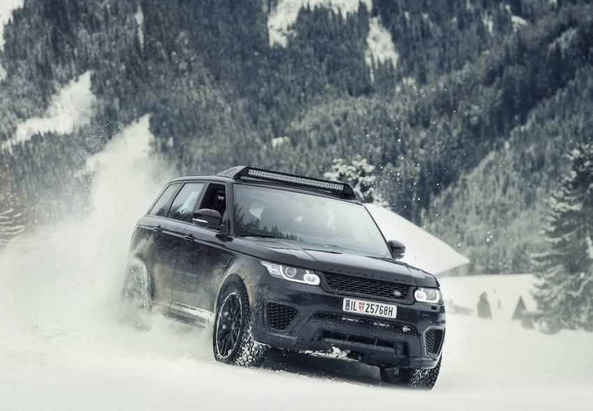 Jaguar Land Rover showcases its trio of Bond cars Image #380859
