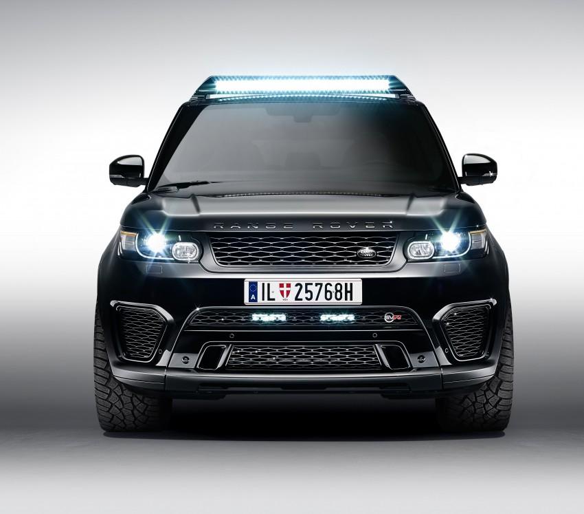 Jaguar Land Rover showcases its trio of Bond cars Image #380860