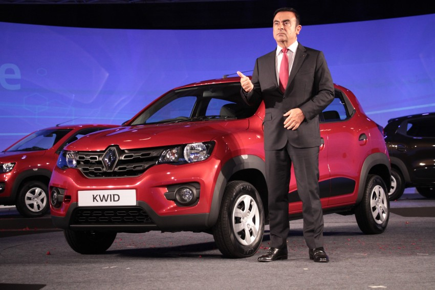 Renault Kwid officially launched in India – from RM17k Image #384467