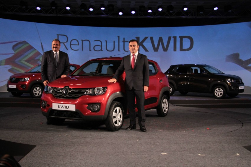 Renault Kwid officially launched in India – from RM17k Image #384470