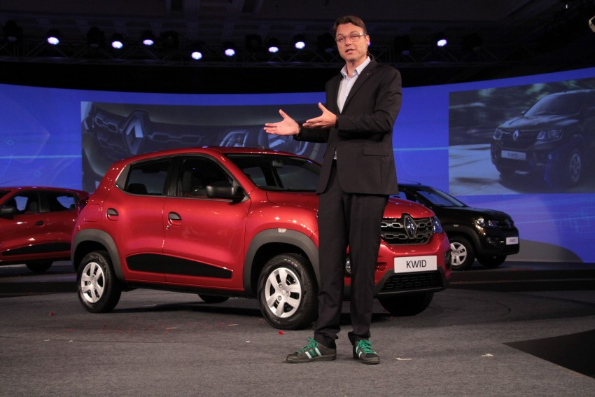 Renault Kwid officially launched in India – from RM17k Image #384471