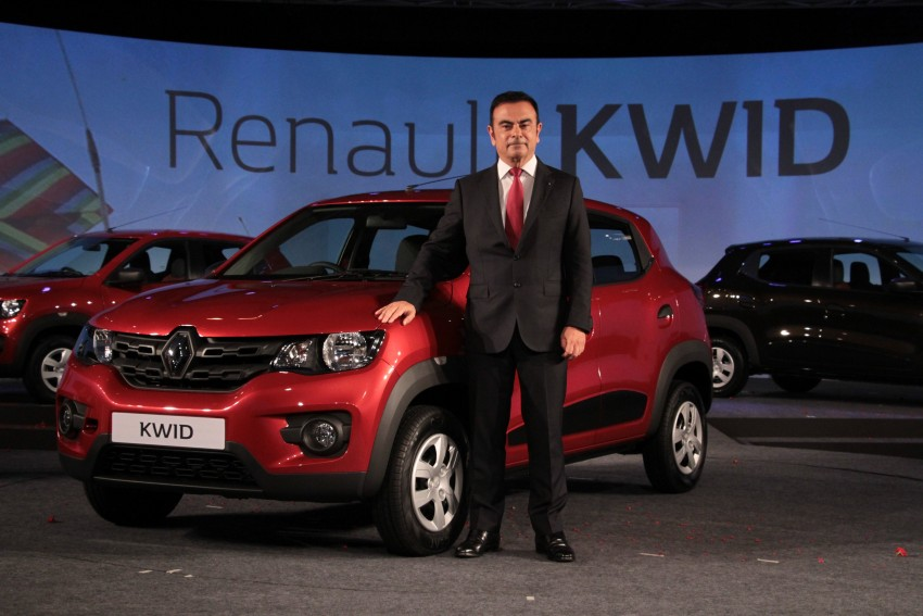Renault Kwid officially launched in India – from RM17k Image #384472
